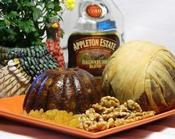 Try our Steamed Carrot Cake Pudding w/ Appleton Estate Rum. Home-made goodness!