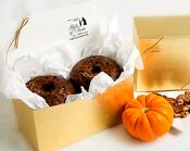 Try our Twin Pack Walnut and Pecan Fall Harvest Pudding (Cake). Home-made goodness!
