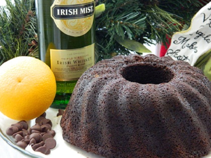 Try our 1 1/2 lb. Guinness Chocolate Orange Irish Whiskey Cake w/ Irish Mist