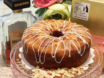 Try our Spring Blossom Almond Cake w/ Amaretto and Brandy
