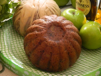 Try our 1 1/2 lb. Guinness Irish Applesauce Cake w/ Bushmill Irish Whiskey
