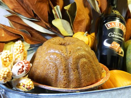 Try our Bailey's Salted Caramel Irish Cream Cake