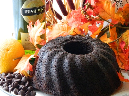 Try our 2 1/4 lb. Guinness Chocolate Orange Cake w/ Irish Mist
