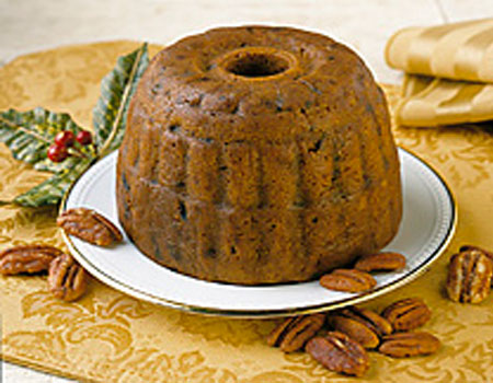 Our gift of the month is Pecan Fall Harvest Plum Pudding (Cake). Try it today!